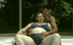 Horny man fucks pregnant babe