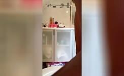Busty brunette decides to eat poop